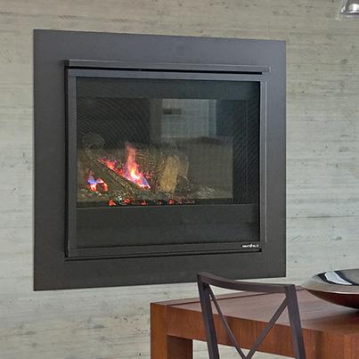 Heat & Glo 3X gas fireplace