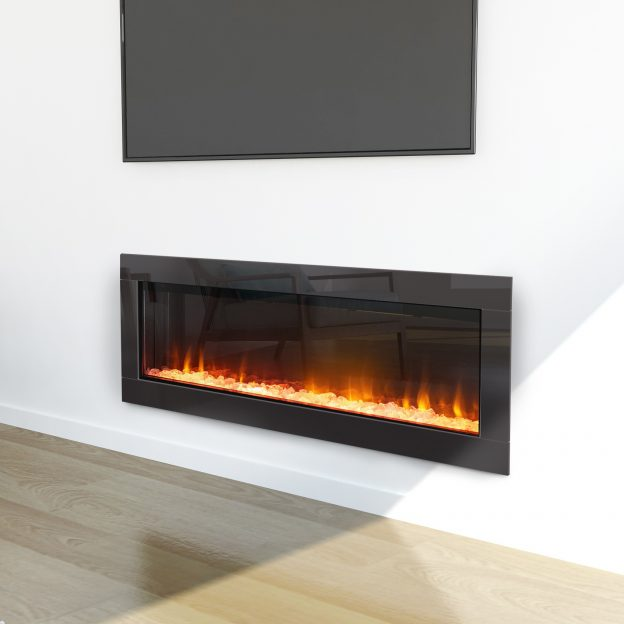 Ambe Linear50 Electric Fireplace - Woodpecker Heating, Cooling, Fireplaces & BBQ's