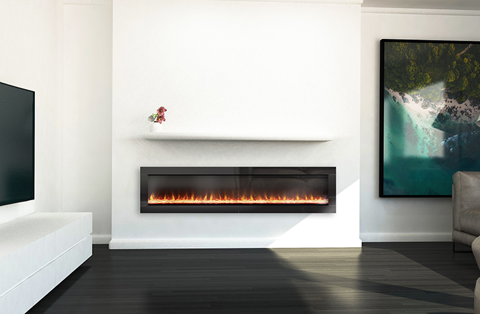 Ambe Linear72 Electric Fireplace