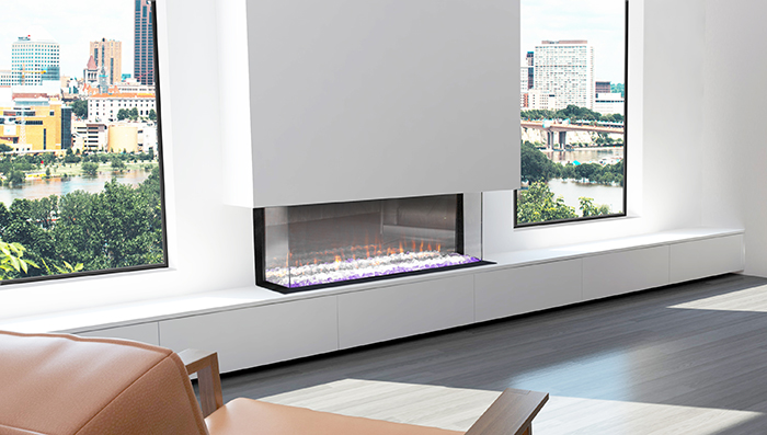 Ambe Electric Fireplace Multi 49
