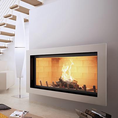 Axis H1400 Inbuilt Wood Heater