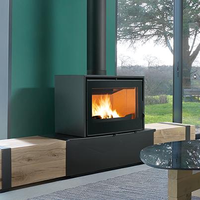 Axis I1000 FS wood fireplace