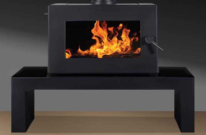 Blaze 905 Bench mounted Convection Wood Heater