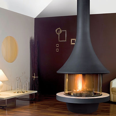 Bordelet Eva 992 suspended fireplace