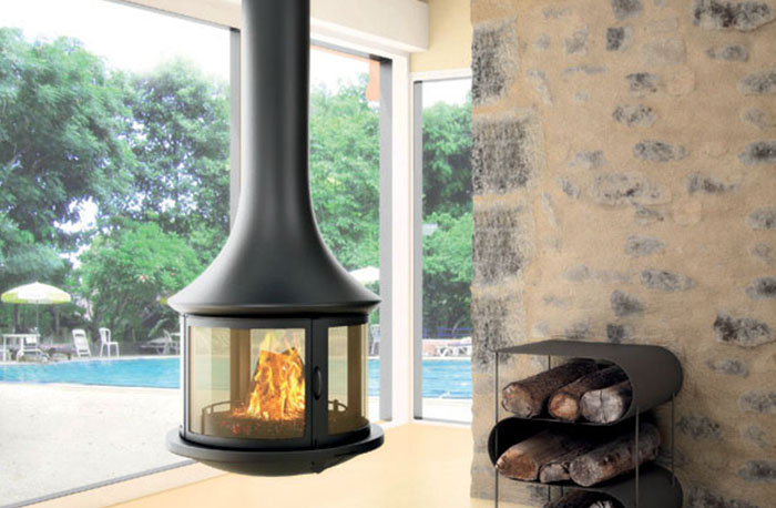 Bordelet Lea 998 Suspended Fireplace