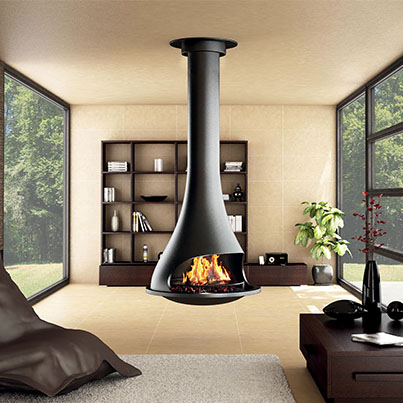 Bordelet Tatiana 997 Suspended Fireplace