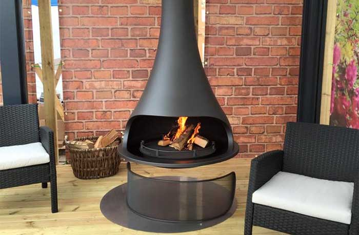 Bordelet Tatiana 997 Suspended Fireplace