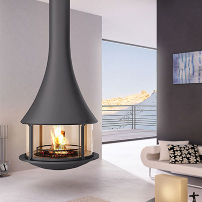 Bordelet Zelia 908 Suspended Fireplace