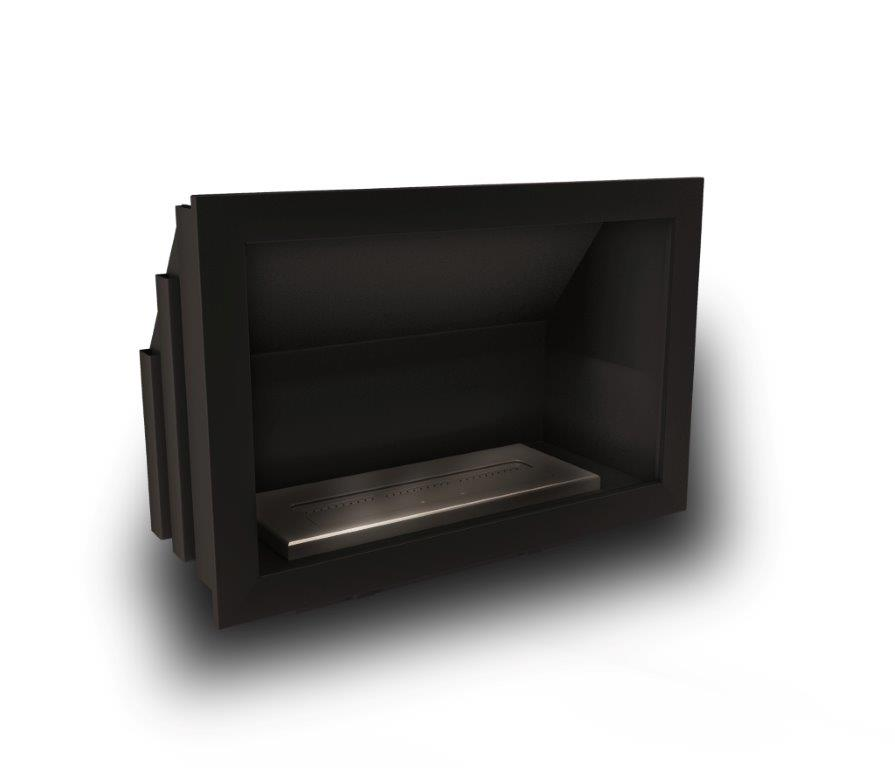 Icon Fires Stainless Steel Commercial Classic Firebox