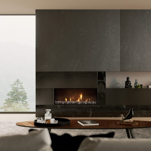 Escea DS1150 Single Sided Gas Fireplace