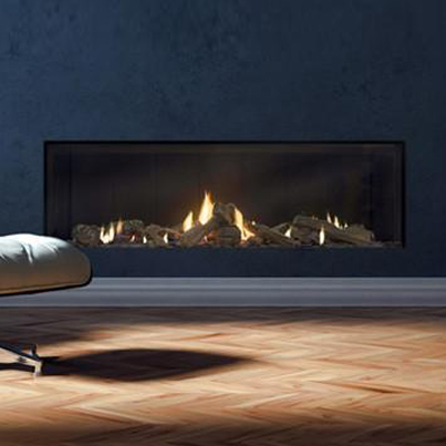 Escea DS1400 Single Sided Gas Fireplace