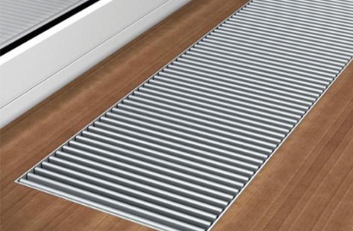 Hurlcon Low Profile Trench Heater