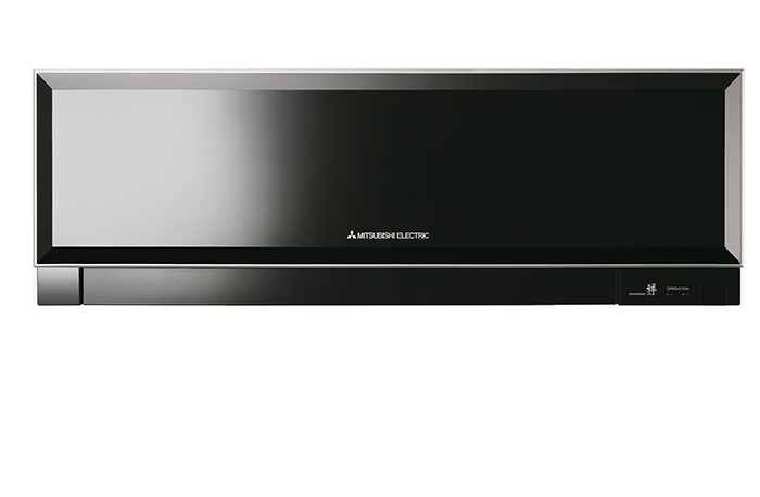 Mitsubishi EF Series Split System – Black 4.2kW
