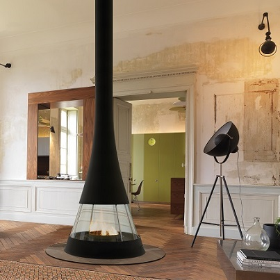 Bordelet Linea 914 Suspended Fireplace - Woodpecker Heating, Cooling, Fireplaces & BBQ's