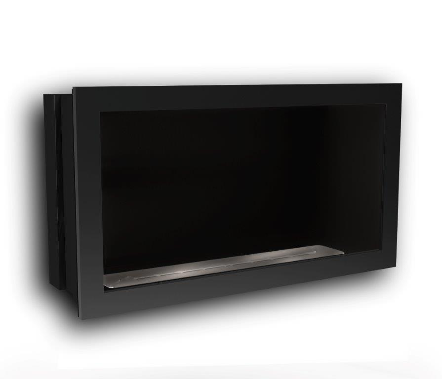 Icon Fires Black Firebox SFB1100 Slimline