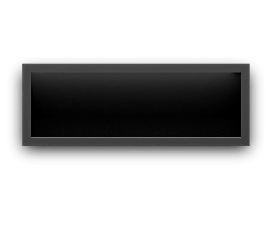 Icon Fires Stainless Steel Firebox SFB1650 Slimline