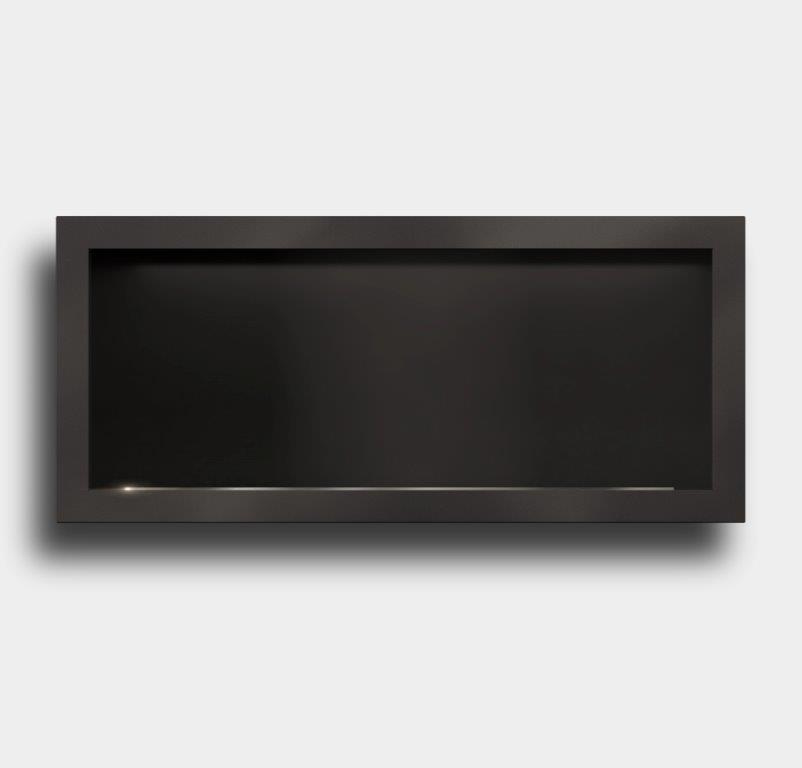 Icon Fires Stainless Steel Firebox SFB1350 Slimline