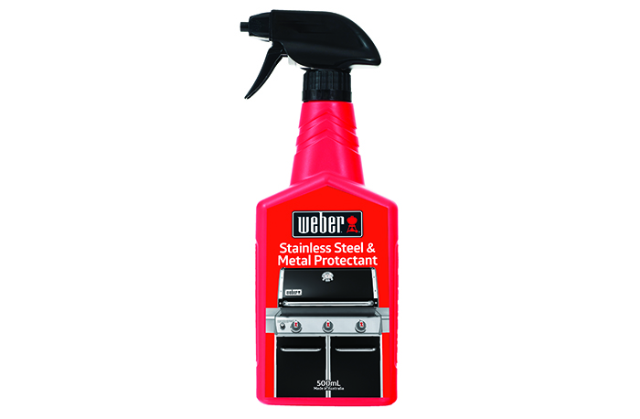 WEBER STAINLESS STEEL & METAL PROTECTANT Cleaner