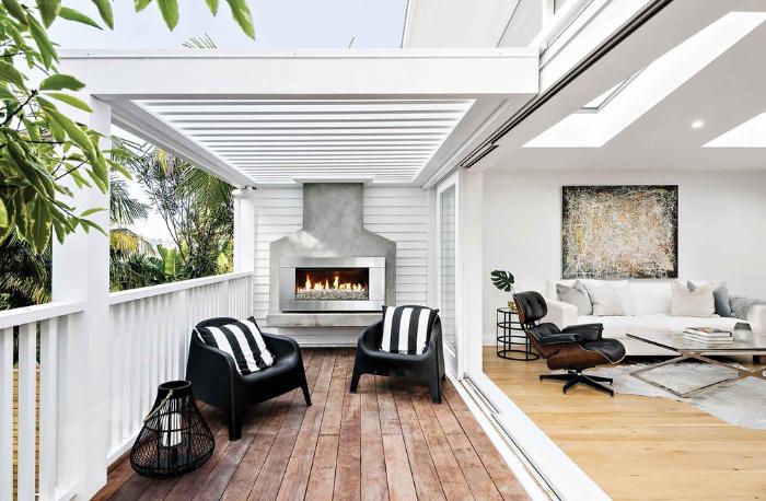 Escea EF5000 Outdoor Fireplace