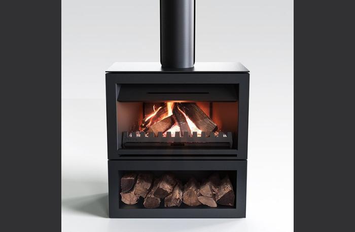 Nectre N900 Open Wood Fireplace