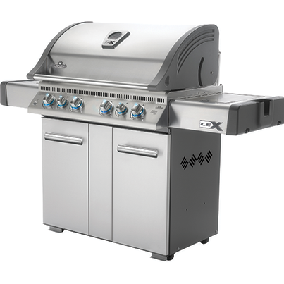 LEX 605 Stainless Steel gas grill BBQ Napoleon