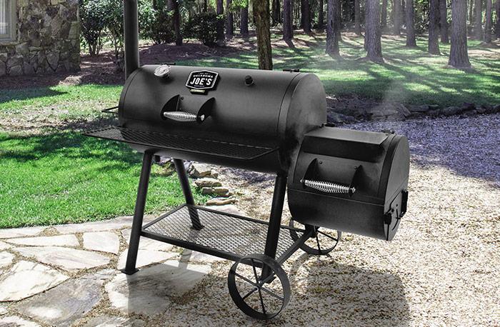 Oklahoma Joe's Longhorn Offset Smoker