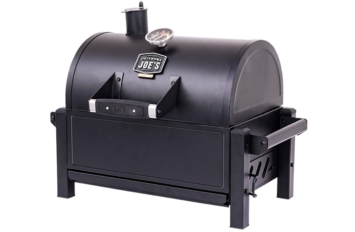 Oklahoma Joe's Rambler tabletop charcoal grill