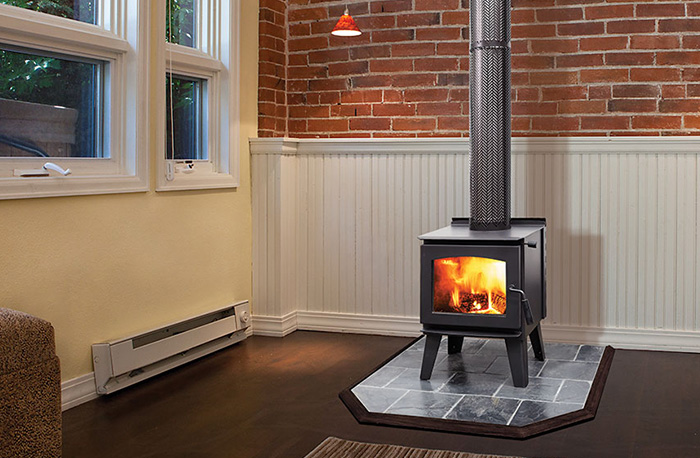 Best Wood Fireplaces For Small Spaces
