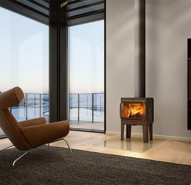Best Wood Fireplaces For Small Spaces Woodpecker