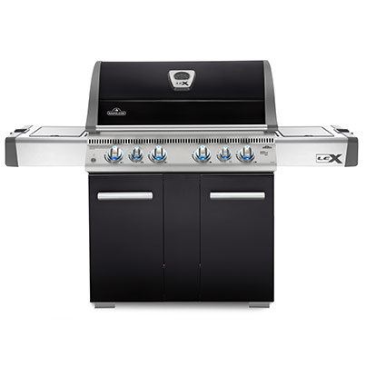LEX 605 Black Gas grill BBQ