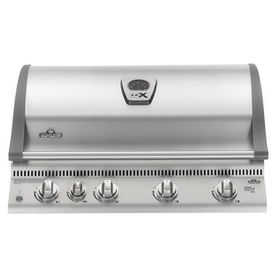 LEX 605 inbuilt stainless steel Napoleon
