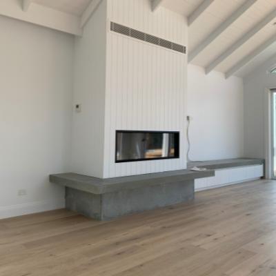 Escea DS1400 Gas log fireplace