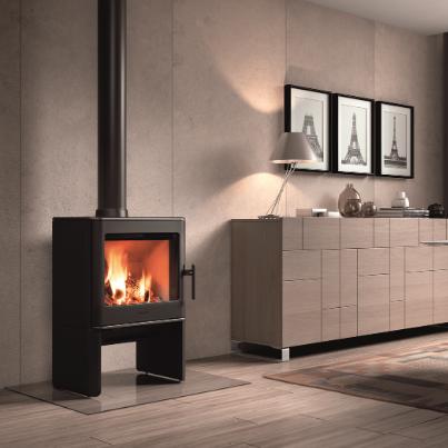 Hergom E-40 freestanding fireplace