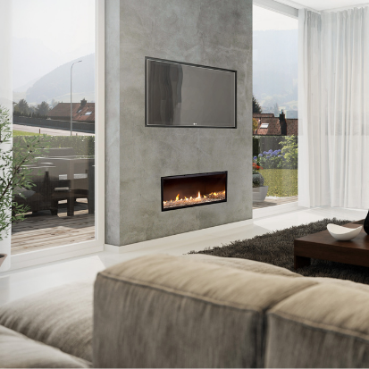 ESCEA GAS FIREPLACE SALE - Woodpecker Heating, Cooling, Fireplaces & BBQ's