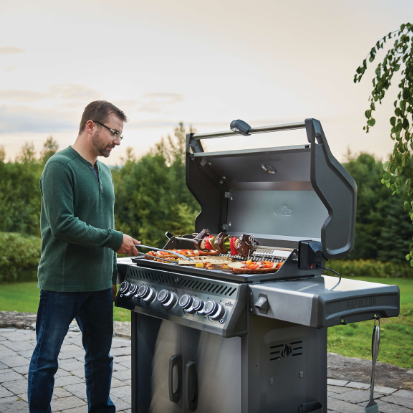 Summer BBQ Sale Napoleon Rogue - Woodpecker Heating, Cooling, Fireplaces & BBQ's