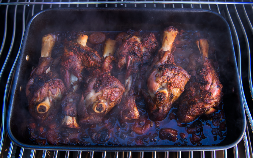 Napoleon BBQ Lamb Schank Recipe - Woodpecker Heating & Cooling