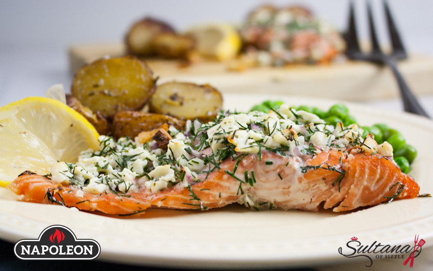 Napoleon Grill Roasted Salmon Recipe - Woodpecker Heating, Cooling, Fireplaces & BBQ's