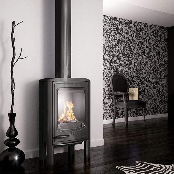 Seguin Jade Cast Iron Wood Stove Fireplace - Woodpecker Heating, Cooling, Fireplaces & BBQ's