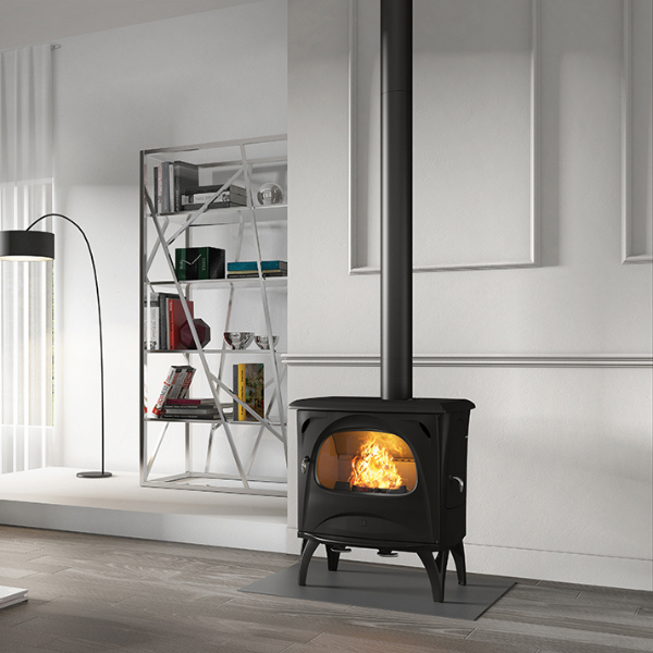 Seguin Aurore Cast Iron Wood Stove Fireplace - Woodpecker Heating, Cooling, Fireplaces & BBQ's