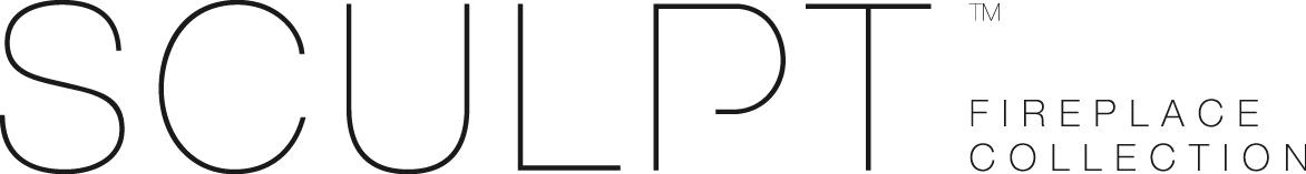 Sculpt Logo Black - Woodpecker HEating, Cooling, Fireplaces & BBQ's