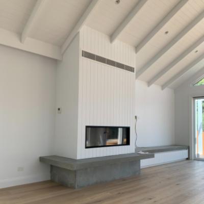 Escea DS1400 Woodpecker Heating Cooling Fireplaces BBQ's Installation Mornington Victoria Australia