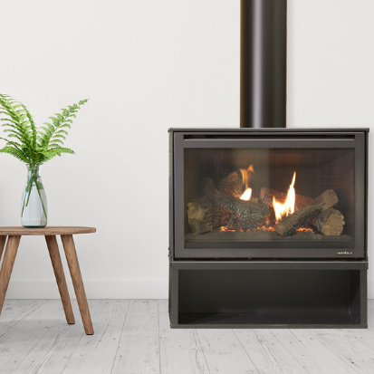 UP T0 $695 OFF HEAT & GLO I30X GAS LOG FIREPLACES - Woodpecker Heating, Cooling, Fireplaces & BBQ's