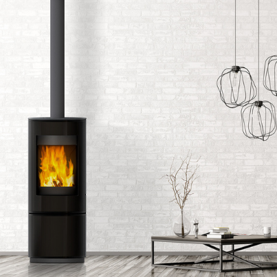 VisionLine Circle Woodpecker Heating Cooling Fireplace BBQs