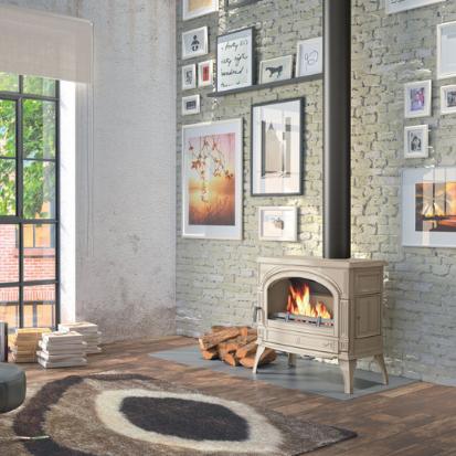 Sculpt Woodpecker Heating Cooling Fireplace BBQs