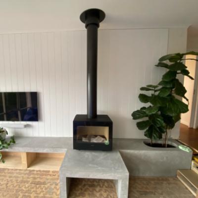 Hergom Glance Woodpecker Heating Cooling Fireplace BBQs