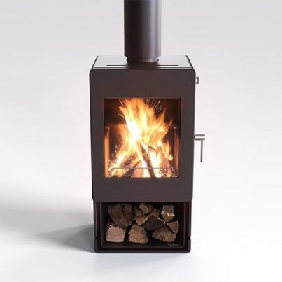 Blaze 400 Freestanding Woodpecker Heating Cooling Fireplace BBQs