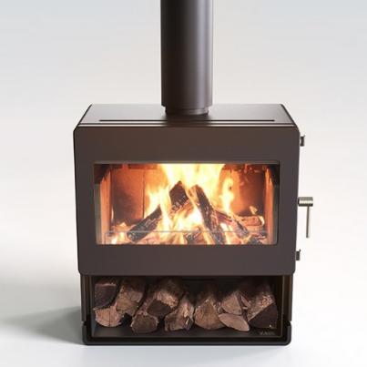 Blaze 700 Freestanding Woodpecker Heating Cooling Fireplace BBQs