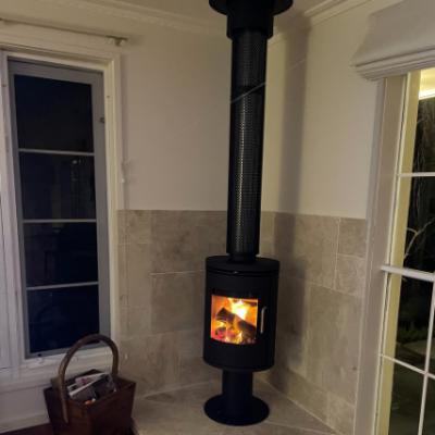 Morso 6148 Woodpecker Heating Cooling Fireplace BBQs