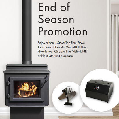 Jetmaster Vic Promotion Woodpecker Heating Cooling Fireplace BBQs